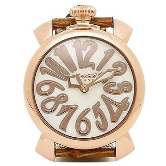 ccd5afb5de [ガガミラノ] 時計 レディース GAGA MILANO 5021.2 BRW MANUALE40MM クォーツ 腕時計 ウォッチ ピンク/ゴールド