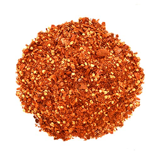 Yimi Crushed Pepper Chilli Flakes,Sichuan Spice Pepper Mix,Spicy Hot Red Chili Powder Blend(5.3oz)