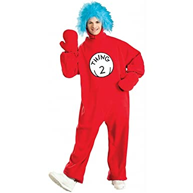 dr seuss thing 2 adult costume - Thing 1 Thing 2 Halloween Costume