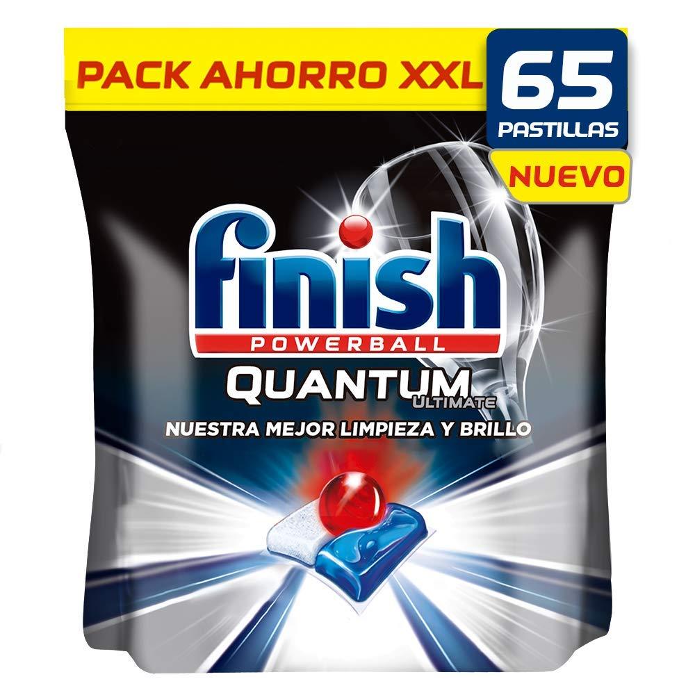 Finish Quantum Ultimate Detergente para Lavavajillas 65 pastillas