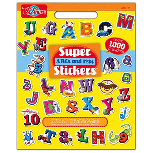 T.S. Shure ABC and 123 Super Sticker Book (Stickers Alphabet Classic)