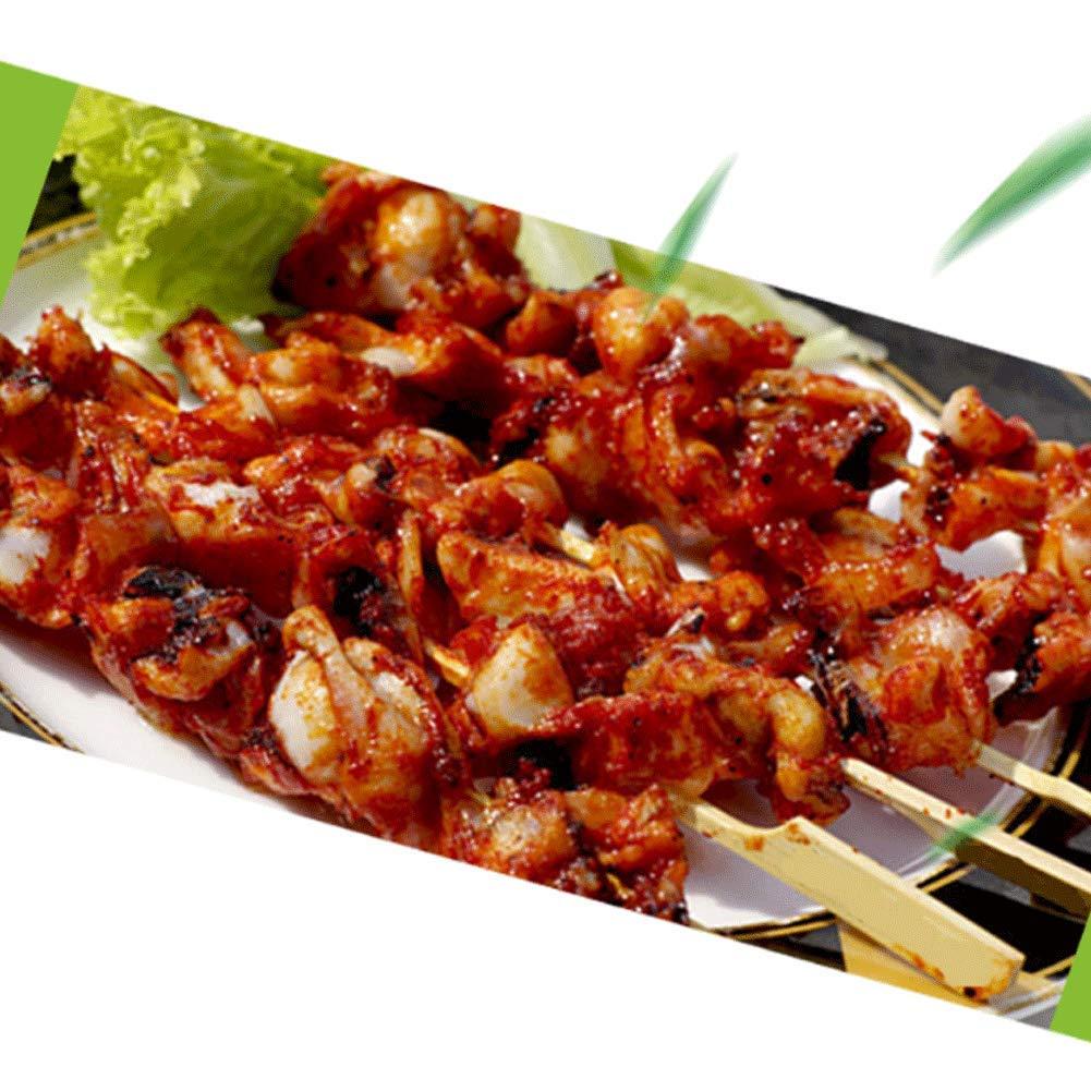 Shi Ran - Varillas de Madera de bambú para Barbacoa, Frutas ...