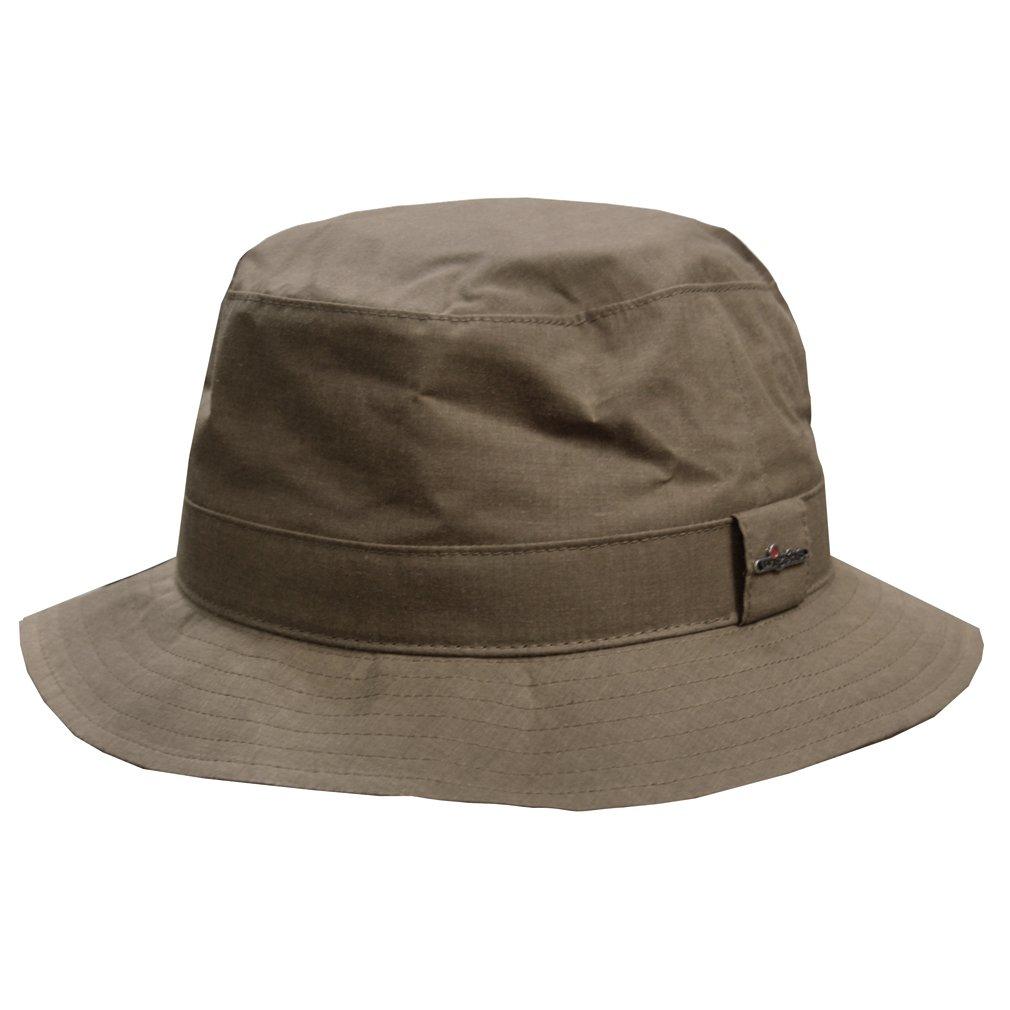 Wigens Wax Cotton Bucket Hat-Khaki-59