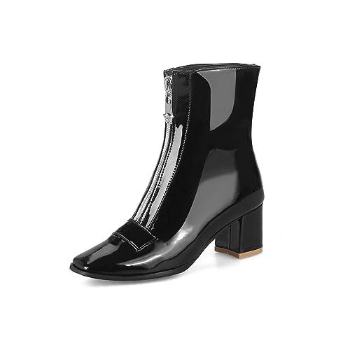 Botines con tacón Cuadrado y tacón Cuadrado para Mujer: Amazon.es: Zapatos y complementos
