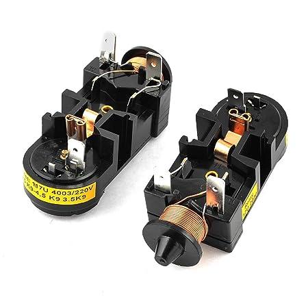 1/6 HP Nevera Protector de sobrecarga térmica del relé de arranque ...