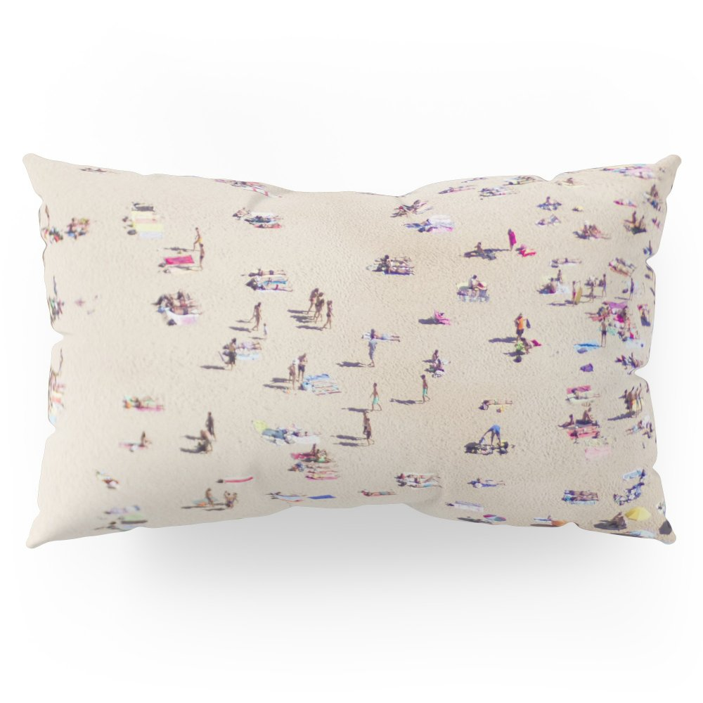 Society6 Beach Love VI Pillow Sham King (20'' x 36'') Set of 2