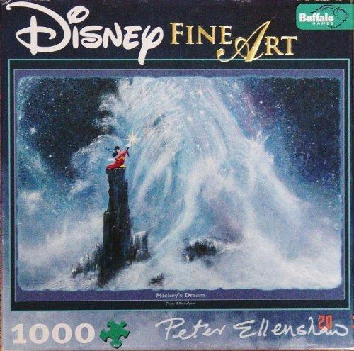 Disney Fine Art 1000 Piece Puzzle - Mickey's Dream By Peter Ellenshaw by Disney