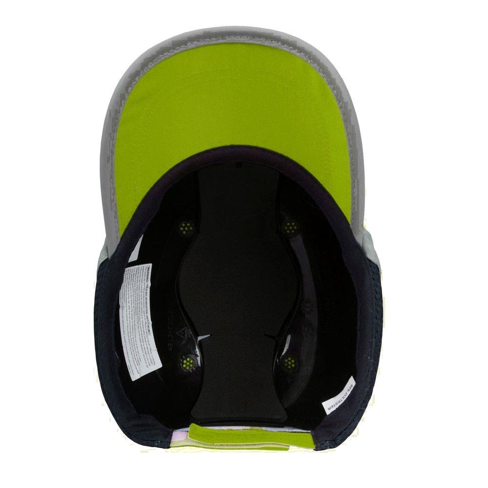 Viwanda - Gorra de Protección ABS con Alta Visibilidad Hi Vis ...