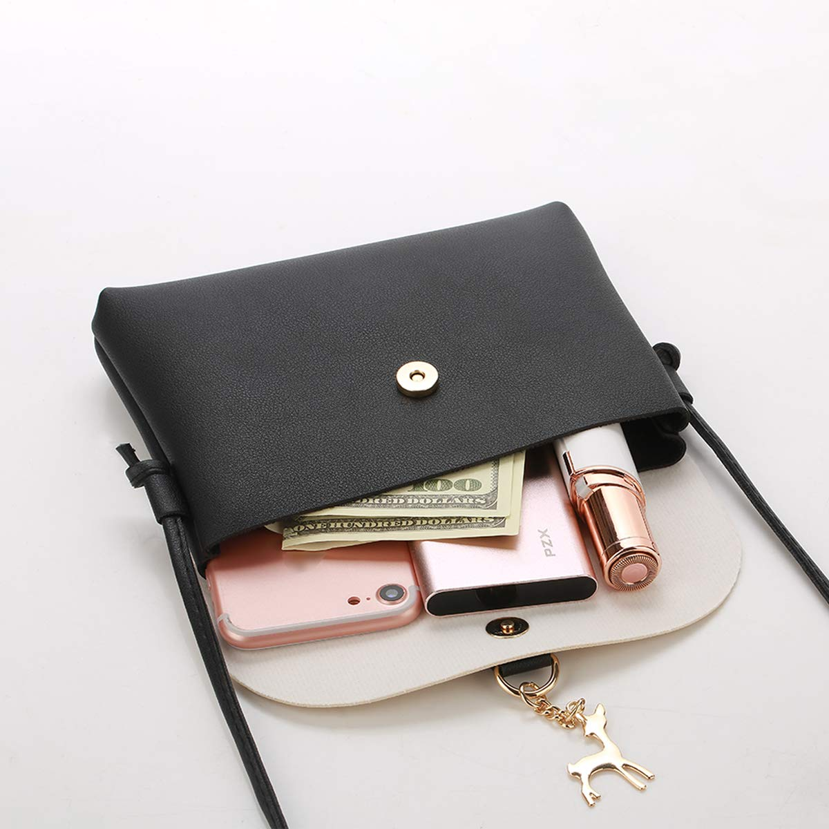 ebf0e24209 Small Crossbody Purse for Women With Pendant