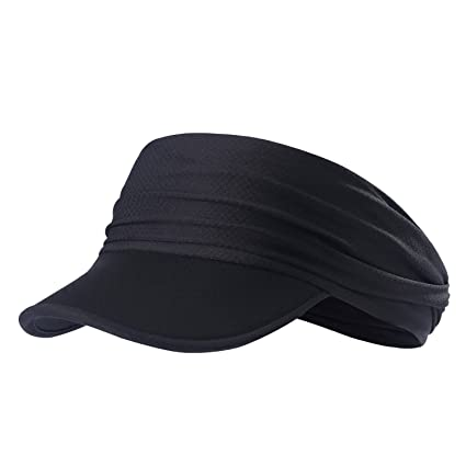 Qinglonglin Sun Visors for Women - Yoga Headband Outdoor Peaked Golf Cap  Headwear Visor Hat Race baa2a1fcbf2