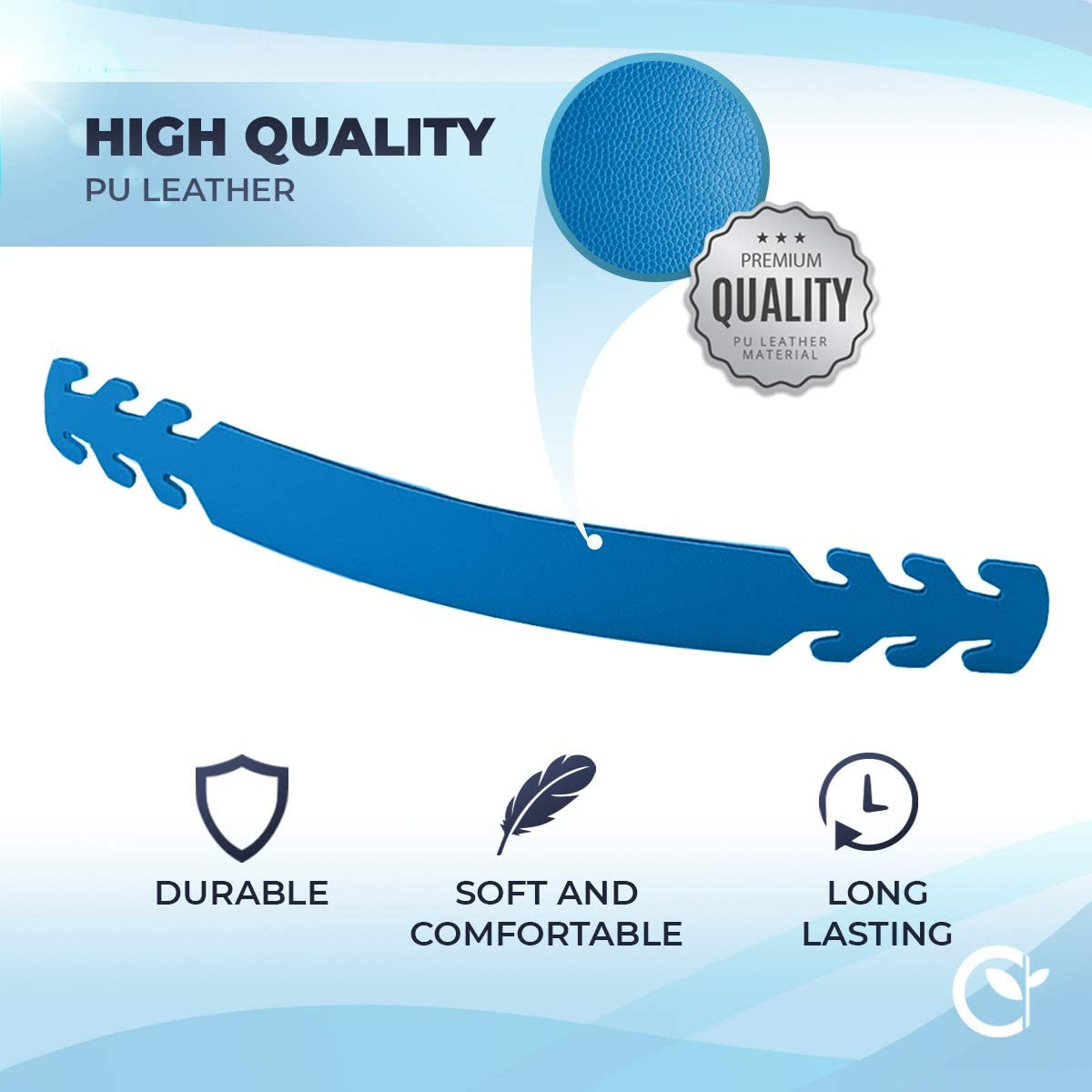 Adjustable Mixed Hook Buckle Strap Mask Extender Pain Relief Anti-Slip Extension Hook for Ear Protection GreenNatured Set of 5 PU Leather Ear Savers Reusable And Stylish