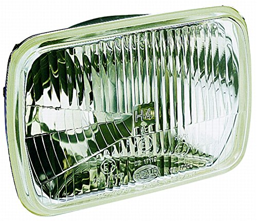 (HELLA 003427011 190 x 132mm Series H4 Type Single High/Low Beam Headlamp)