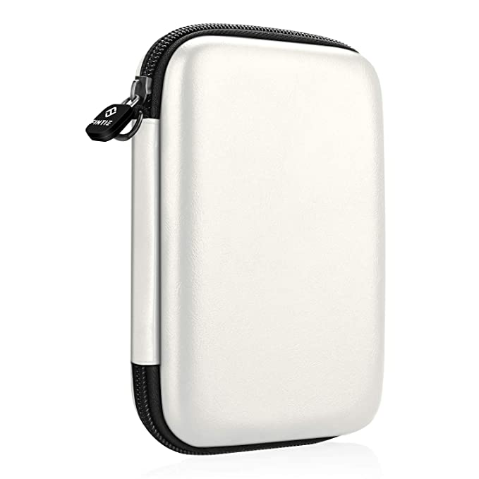 Fintie Funda Portátil para HP Sprocket Plus, Canon Ivy CLIQ/Ivy CLIQ+ / Zoemini Impresora Fotográfica - Bolsa Caja del Viaje Duro EVA a Prueba de ...