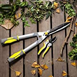 Jardineer 2Pcs Professional Hedge