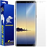 ArmorSuit - Galaxy Note 8 Screen Protector [Max Screen Coverage] MilitaryShield For Note 8 Lifetime Replacement Anti-Bubble HD Clear