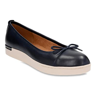 Womens Shoes Clarks Cordella Alto Navy Leather