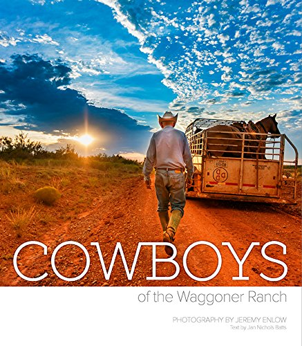 Fort Worth-based Jeremy Enlow was given exclusive access to the cowboys behind the prestigious reversed triple D brand of the Waggoner Ranch, the largest ranch in the United States under one fence. Enlow is an advertising, media and fine arts photogr...