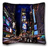 Custom Cotton & Polyester Soft Animal Soft Pillow Case Cover 16*16 Inch (One Sides)Zippered Pillowcase suitable for California King-bed