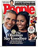 img - for People Magazine (December 19, 2016) The Obamas Say Goodbye book / textbook / text book