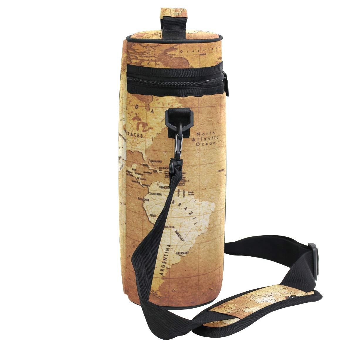 Coosun - Bolsa térmica para botella de vino con asa y correa ajustable para el hombro: Amazon.es: Hogar
