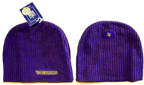 7ec66ac4 Amazon.com : Minnesota Vikings Samos Knit Stocking Cap Hat/Cap ...