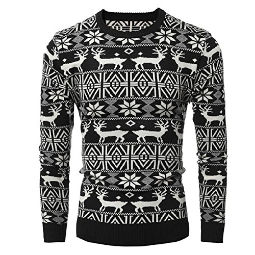 Autumn and Winter New Men 's Leisure Printing Jacket(Black) - 3