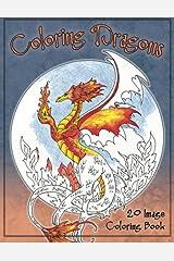 Coloring Dragons Coloring Book Paperback