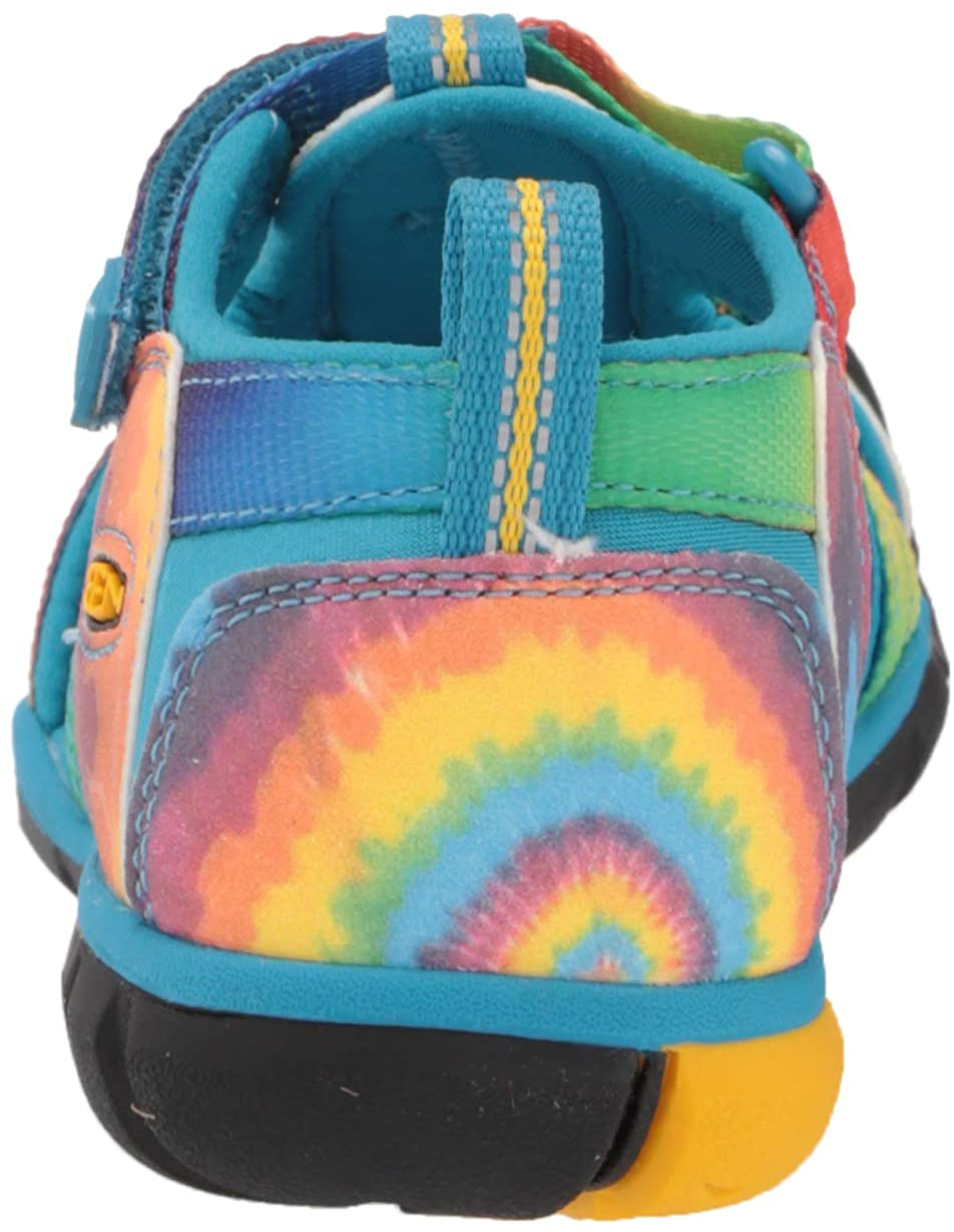 KEEN Seacamp 2 CNX Closed Toe Sandal 12 US Unisex Little Kid Vivid Blue//Original Tie Dye