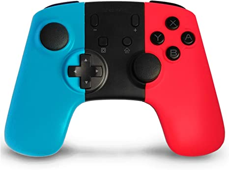 Wireless Mandos para Nintendo Switch, Anpreme Nintendo Switch Controller con Gyro Axis Dual Shock Vibration Mandos Gamepad Joystick para Nintendo Switch: Amazon.es: Videojuegos