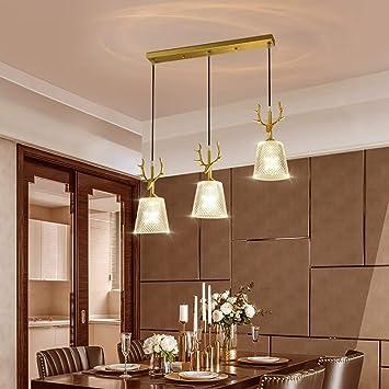 Amazon.com: Three Dining Room Table Bar Lamp Creative ...