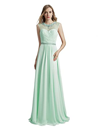 Sarahbridal Women Long Bridesmaid Dresses Ball Gowns Evening Dress Plus Size for Wedding Guest SLX510 Aqua