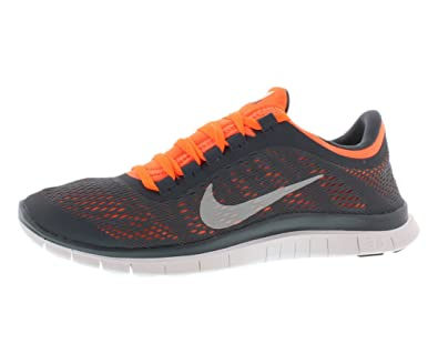 Men\u0026#39;s Nike Free 3.0 V5 Mens Dark Armory Blue White Total Orange White ...