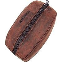 Lilosac® – Monedero para hombre – Grano de café – Piel gruesa flexible resistente – Para bolsillos pantalones o…