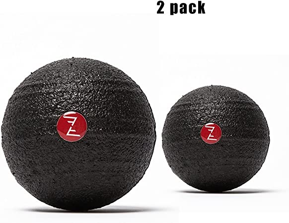 Massage Ball 2 Pack, Roller Balls, Deep Tissue, Yoga (Color ...