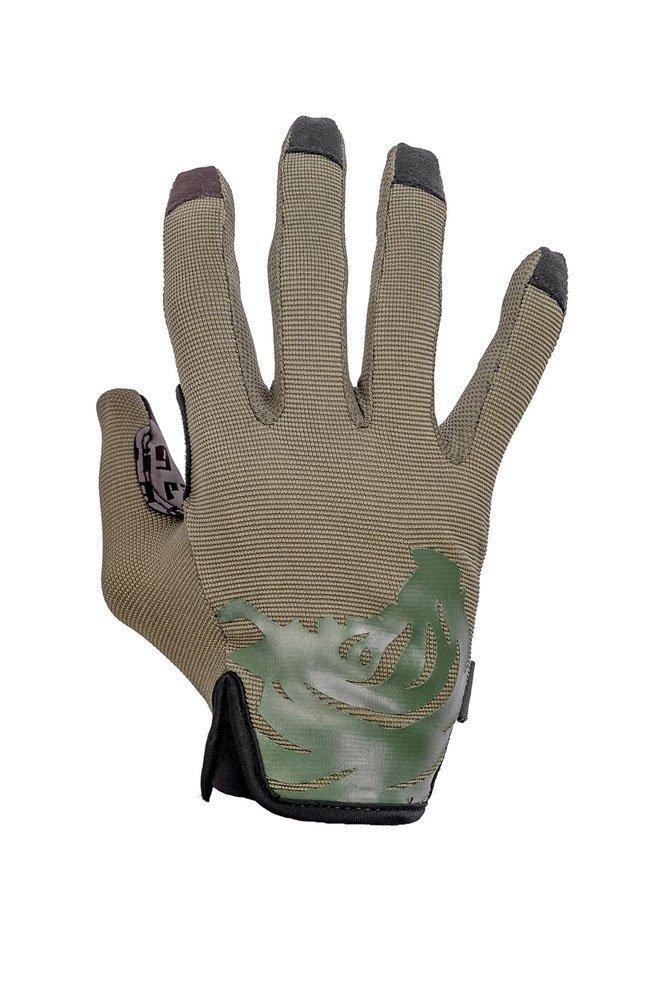 PIG Full Dexterity Tactical (FDT) - Delta Utility Gloves (Ranger Green, Medium)