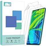 [3 Pack] WRJ for Xiaomi Mi Note 10/Xiaomi Mi Note 10 Pro Screen Protector, HD Not Glass Film with HydrateSkin, [Not Glass] [Anti-Scratch] Flexible Film,Lifetime Replacement Warranty