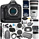6Ave Canon EOS-1D X Mark II DSLR Camera International version (No Warranty) + Canon EF 300mm f/2.8L IS II USM Lens + Battery Grip Wildlife and Sports Photography Bundle
