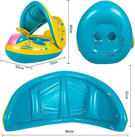 Amazon.com: Flotadores de piscina para bebé hinchable ...