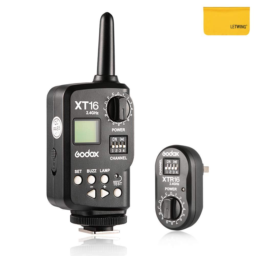 DE DP Series Studio Flashes Receiver Witstro Outdoor Flash Quicker Gemini GT Gemini GS Godox XT-16 Wireless 2.4G Remote Control Flash Trigger Quicker D QT QS