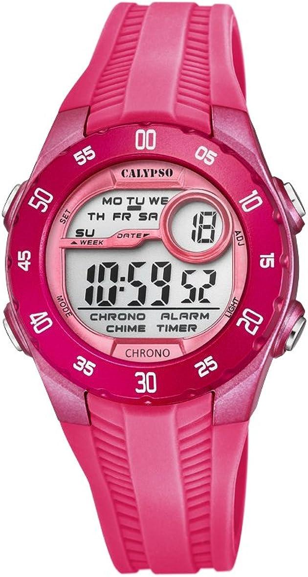 Calypso Reloj Digital para Unisex de Cuarzo con Correa en Plástico K5744/2