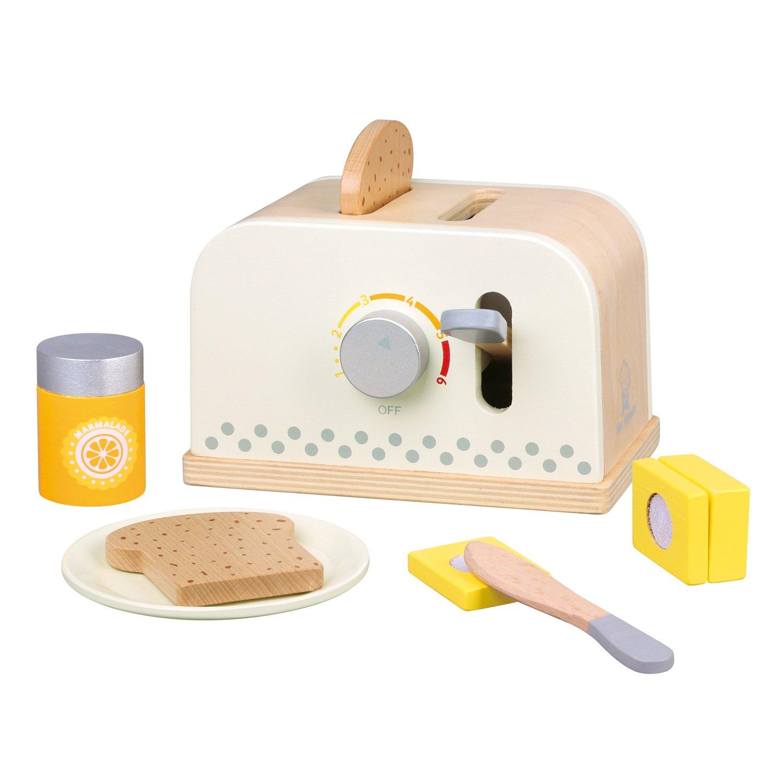 Kinder Toaster - New Classic Toys Toaster mit Zubehör - Spielzeug Toaster