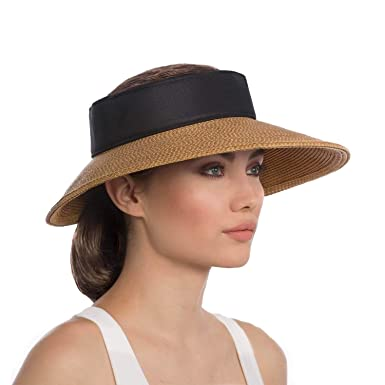 896848fbe88 Eric Javits Luxury Women s Designer Headwear Hat - Squishee Halo -  Natural Black