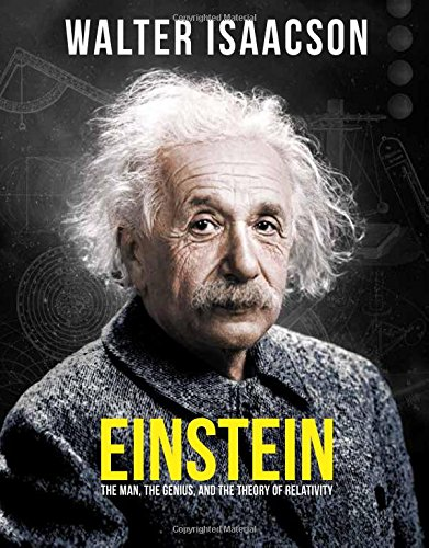 Book cover from Einstein: The Man, the Genius, and the Theory of Relativity by Walter Isaacson