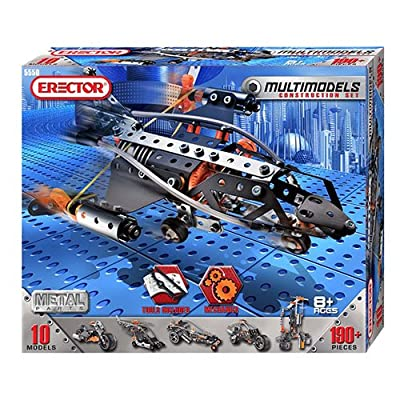 Erector®, Multi Model 10 in 1 Set - Item #5550