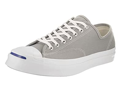 01dbdf216a74 Converse Unisex Jack Purcell Signature Ox Dolphin White White Casual Shoe 8  Men US