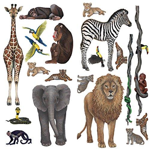 Walls of the Wild Rainforest Jungle and Safari Wall Mural