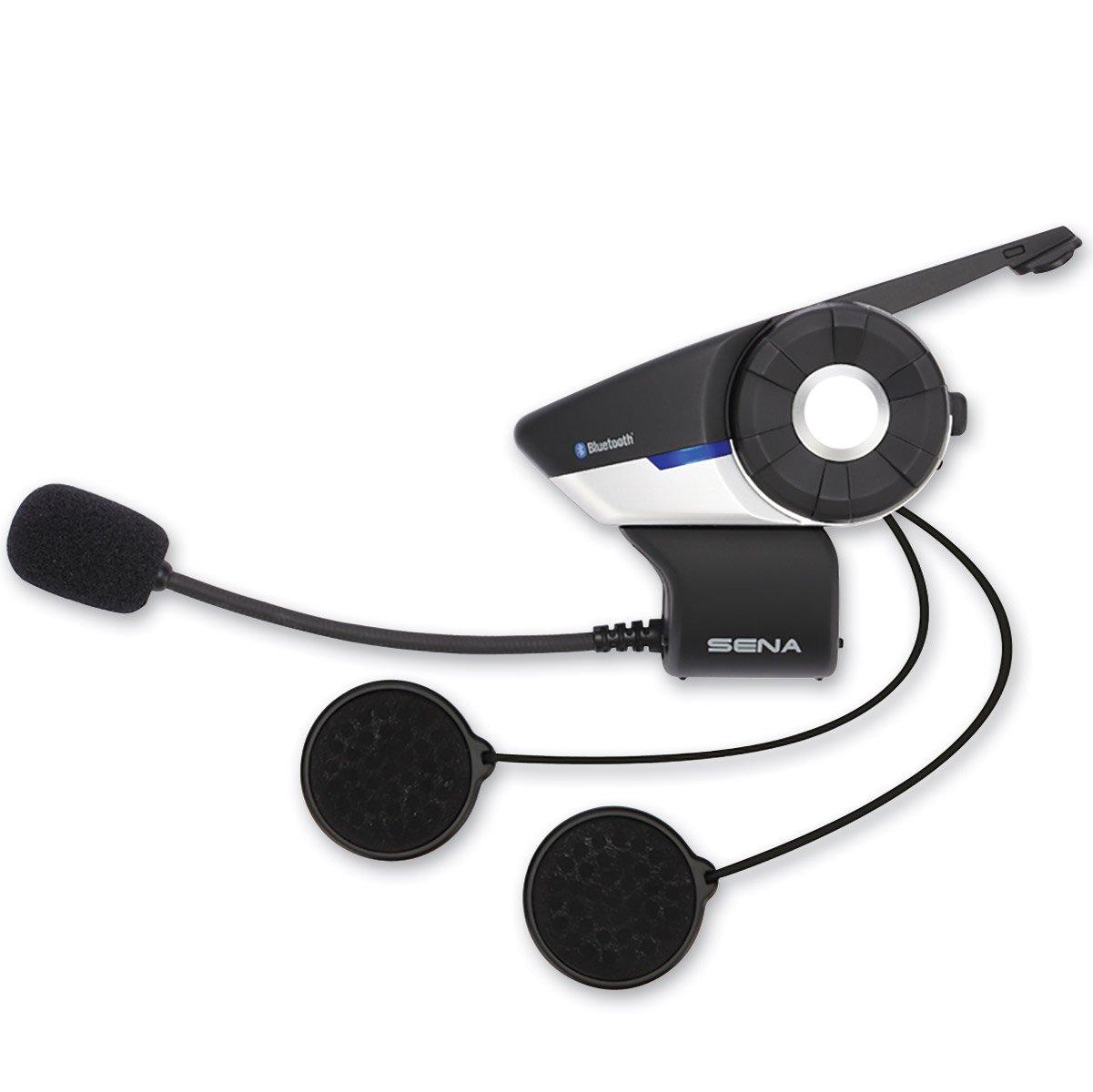 Sena Technologies 20S Single Motorcycle Bluetooth Communication System,