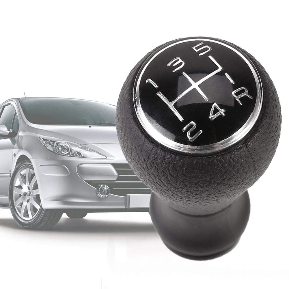 Keptfeet 5 Speed Manual Car Gear Shift Knob for CITROEN C1 C3 C4 / For PEUGEOT 106 107 205 206 207 306 307 308 309 405 406 407 508 605 607 806 807