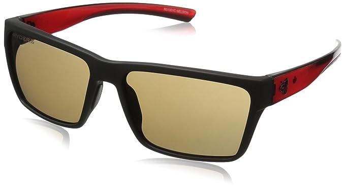 Amazon.com: Ryders Nelson anteojos de sol, Rojo, L: Clothing