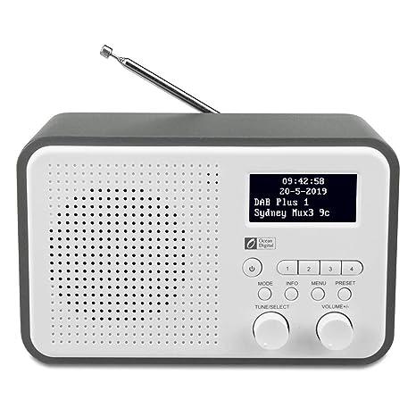 Voreingestellten DabdabFm Radio LautsprecherAux OutKopfhöreranschlussBis Mit Ocean Digital SendernHolzgehäuse Db332 InAudio Zu 40 shQrxdtC